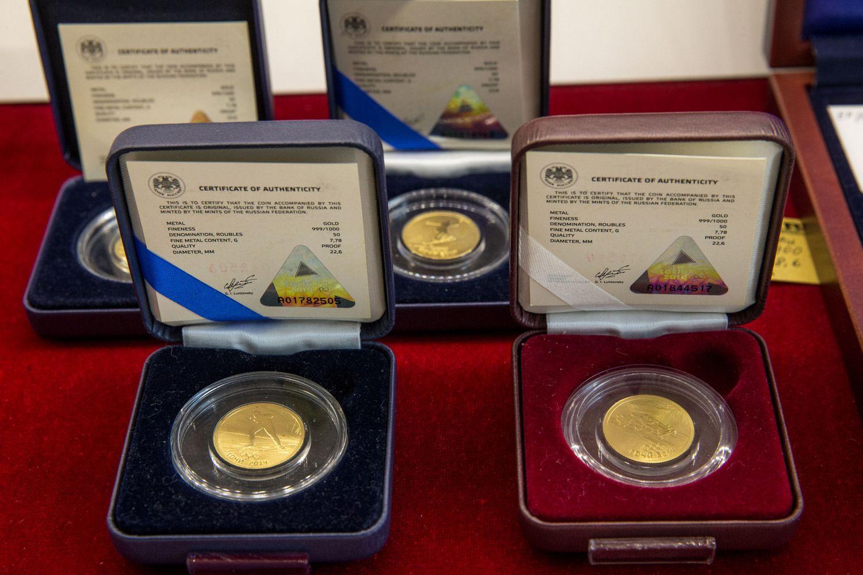 Aukso kaina pasimatavo 1.300 USD