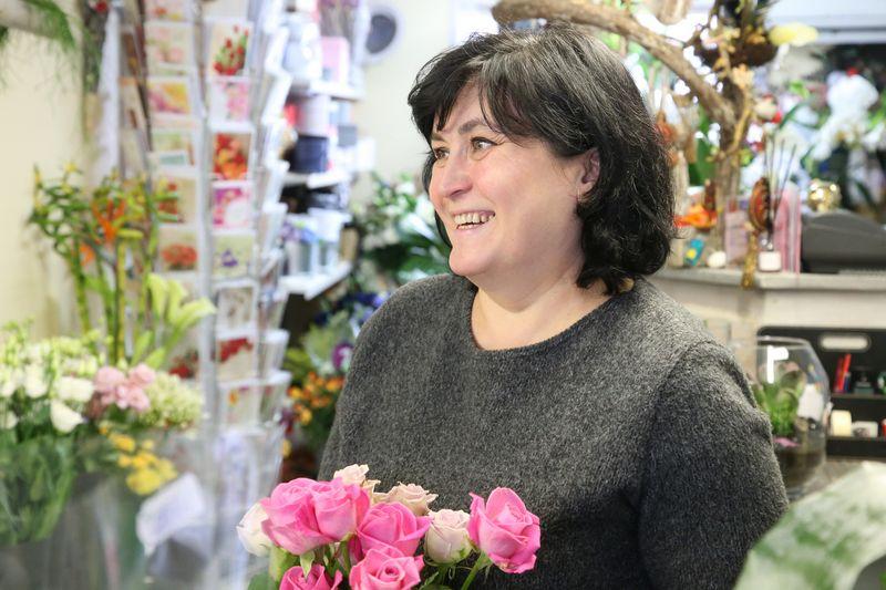 """Lina Labanauskienė, floristikos salono """"Florina"""" įkūrėja: """"Patys sau užsikėlėme kartelę, tad dabar turime kaskart padaryti ką nors geriau, kitaip, nes pirkėjas nori būti nustebintas."""" Vladimiro Ivanovo (VŽ) nuotr."""