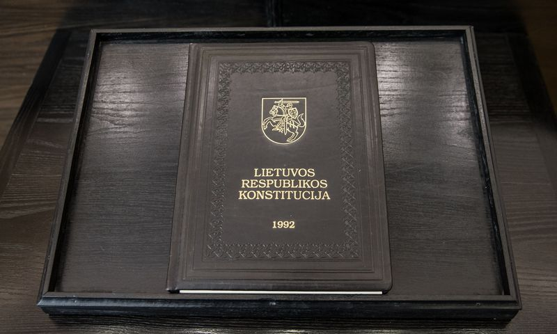Konstitucinis teismas nagrinėja, ar Konstituciją atitinka sprendimas referendumą rengti ne vieną dieną ir su pertrauka. Juditos Grigelytės (VŽ) nuotr.