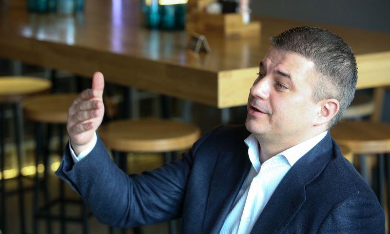 """Gediminas Žiemelis, """"Avia Solutions Group"""" valdybos pirmininkas. Vladimiro Ivanovo (VŽ) nuotr."""