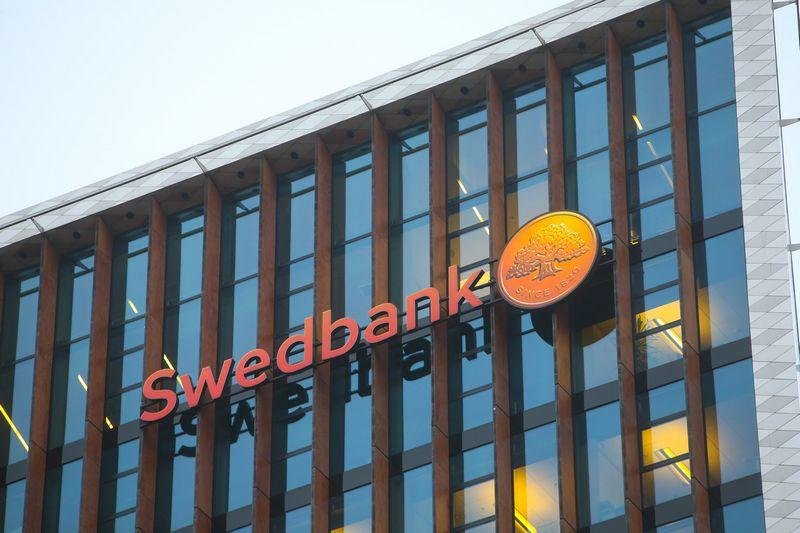 Swedbank logotipas. Vladimiro Ivanovo (VŽ) nuotr.