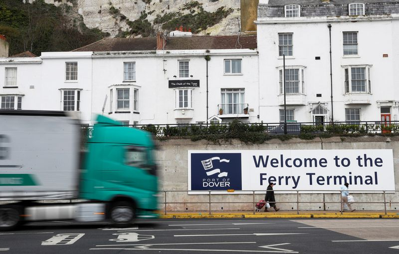 """Doverio uostas Jungtinėje Karalystėje. Peter Nicholls (""""Reuters"""") nuotr."""