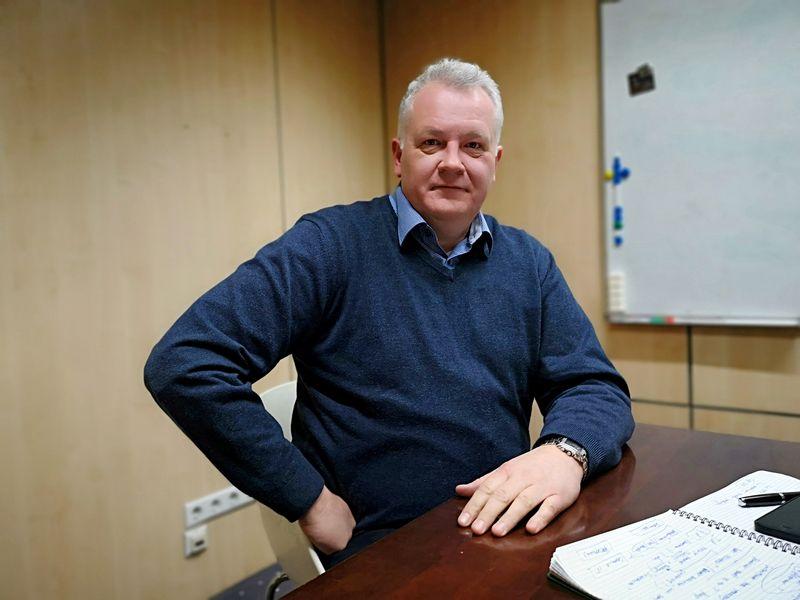 """Darius Masionis, UAB """"Cie Forge LT"""" generalinis direktorius. Liudo Parulskio (VŽ) nuotr."""