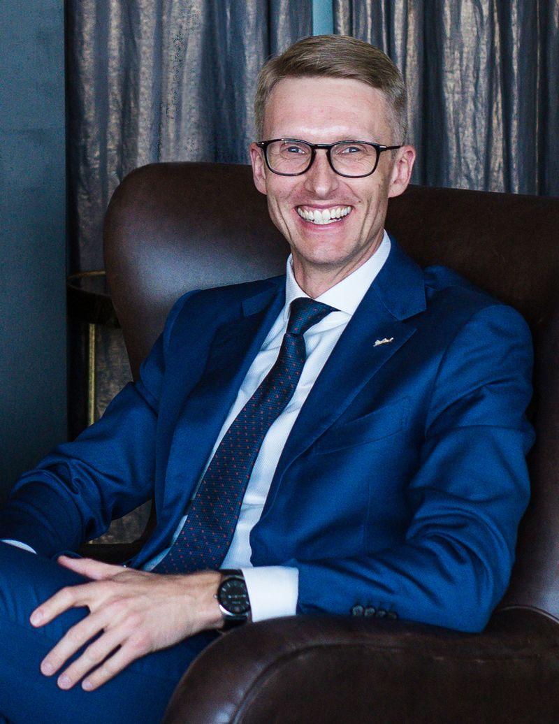 """Tadas Evaltas, """"Hilton Garden Inn Vilnius City Centre"""" vadovas. Bendrovės nuotr."""