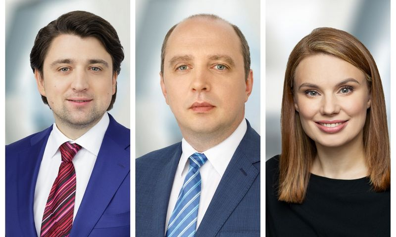 """Iš kairės: Andrius Smaliukas, Audrius Petkevičius, Jolanta Liukaitytė-Stonienė. """"Ellex Valiunas"""" nuotr."""