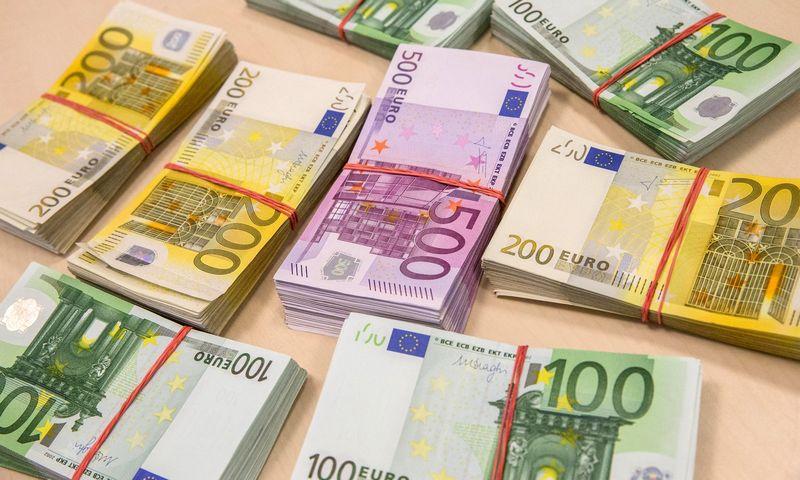 Po gerų laikų įmonės sukaupė laisvų eurų. Juditos Grigelytės (VŽ) nuotr.