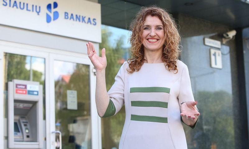 Daiva Grikšienė, Šiaulių banko rinkodaros ir komunikacijos departamento direktorė nuo šiandien palieka šias pareigas. Vladimiro Ivanovo (VŽ) nuotr.