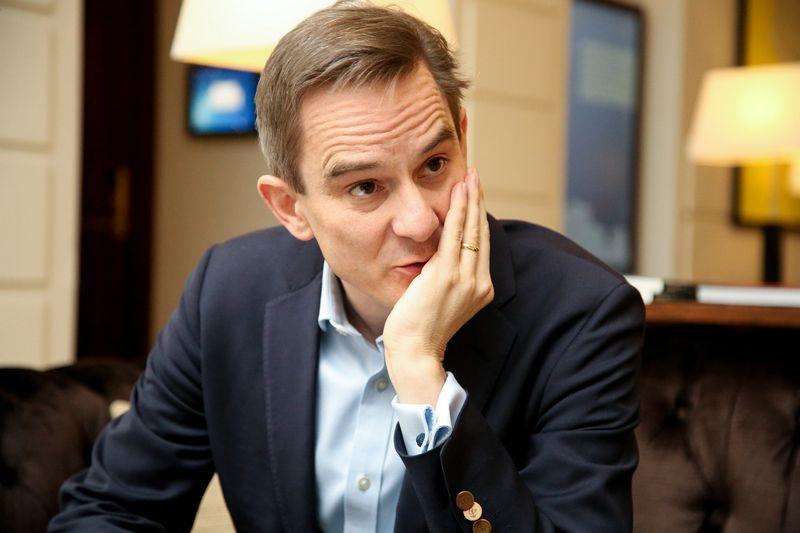 """Robertas Guestas, """"The Economist"""" užsienio naujienų redaktorius. Vladimiro Ivanovo (VŽ) nuotr."""