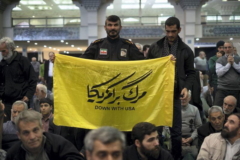 Žinia apie raketą buvo paskelbta Iranui minint islamo respublikos įkūrimo 40-ąsias metines. MORTEZA NIKOUBAZL (SIPA/Scanpix) nuotr.