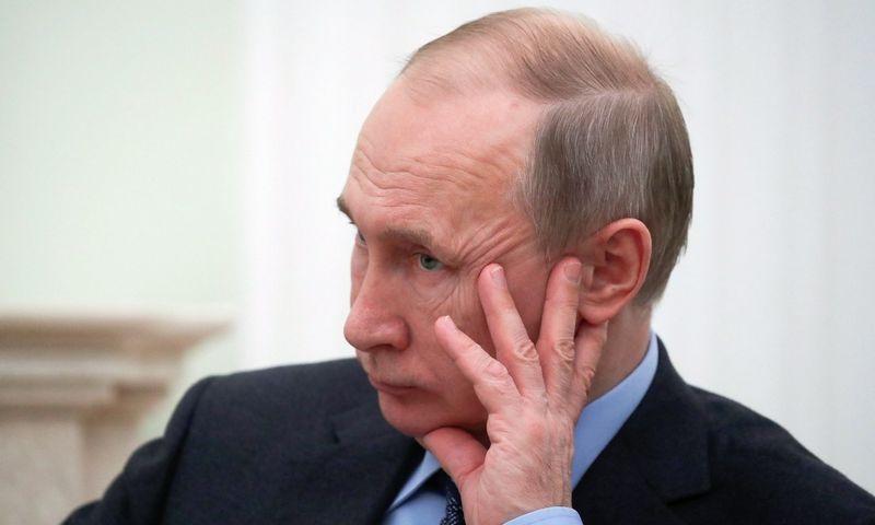 Rusijos prezidentas Vladimiras Putinas. MAXIM SHEMETOV (Reuters/Scanpix) nuotr.