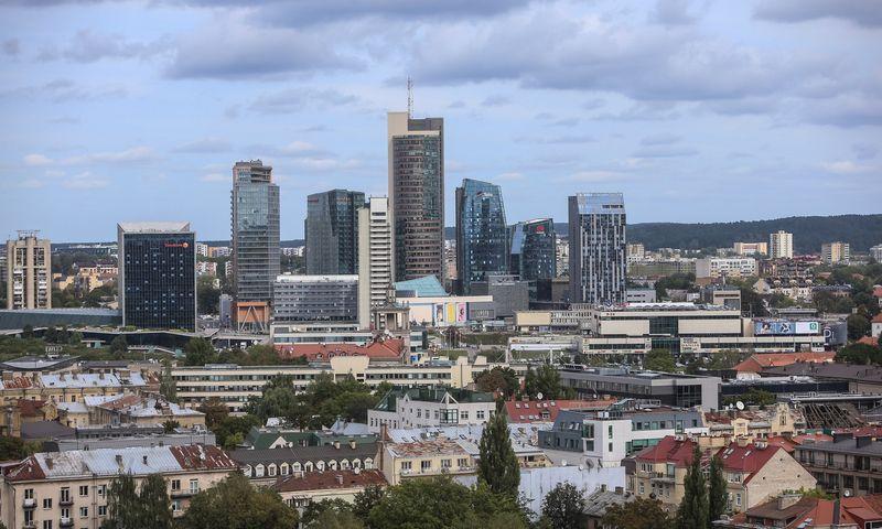 Vilnius penktus metus iš eilės buvo apdovanotas kaip labiausiai besivystantis  paslaugų centrų miestas. Vladimiro Ivanovo (VŽ) nuotr.