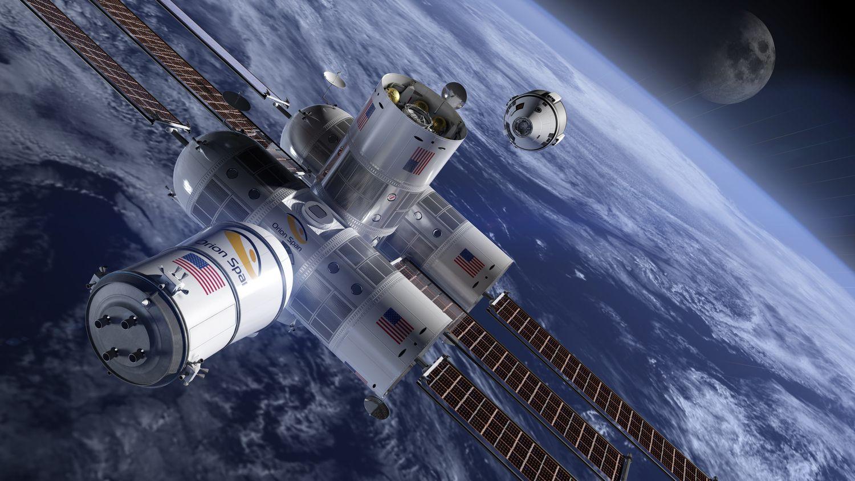 Pirmasis kosmoso viešbutis klientų lauks 2022 m.