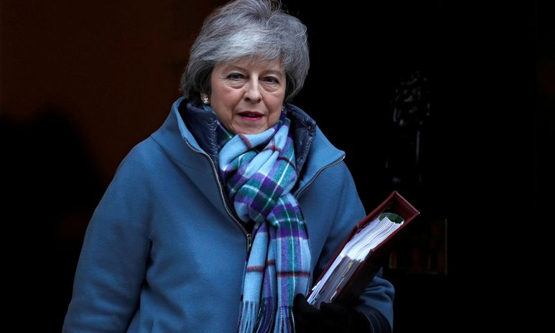 "Theresa May, JK premjerė. Peter Nicholls (""Reuters"" / ""Scanpix"")."