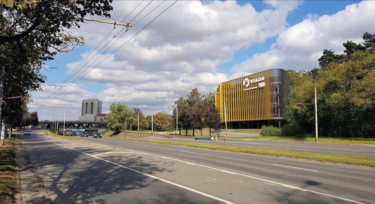 Vilniaus Savanorių pr. planuojamas verslo centras