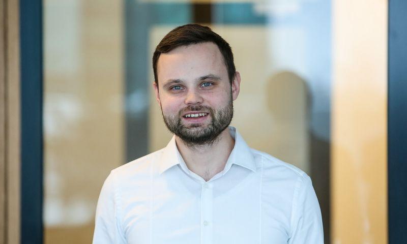 """Robertas Žulpa, UAB """"Inreal"""" analitikas. Vladimiro Ivanovo (VŽ) nuotr."""