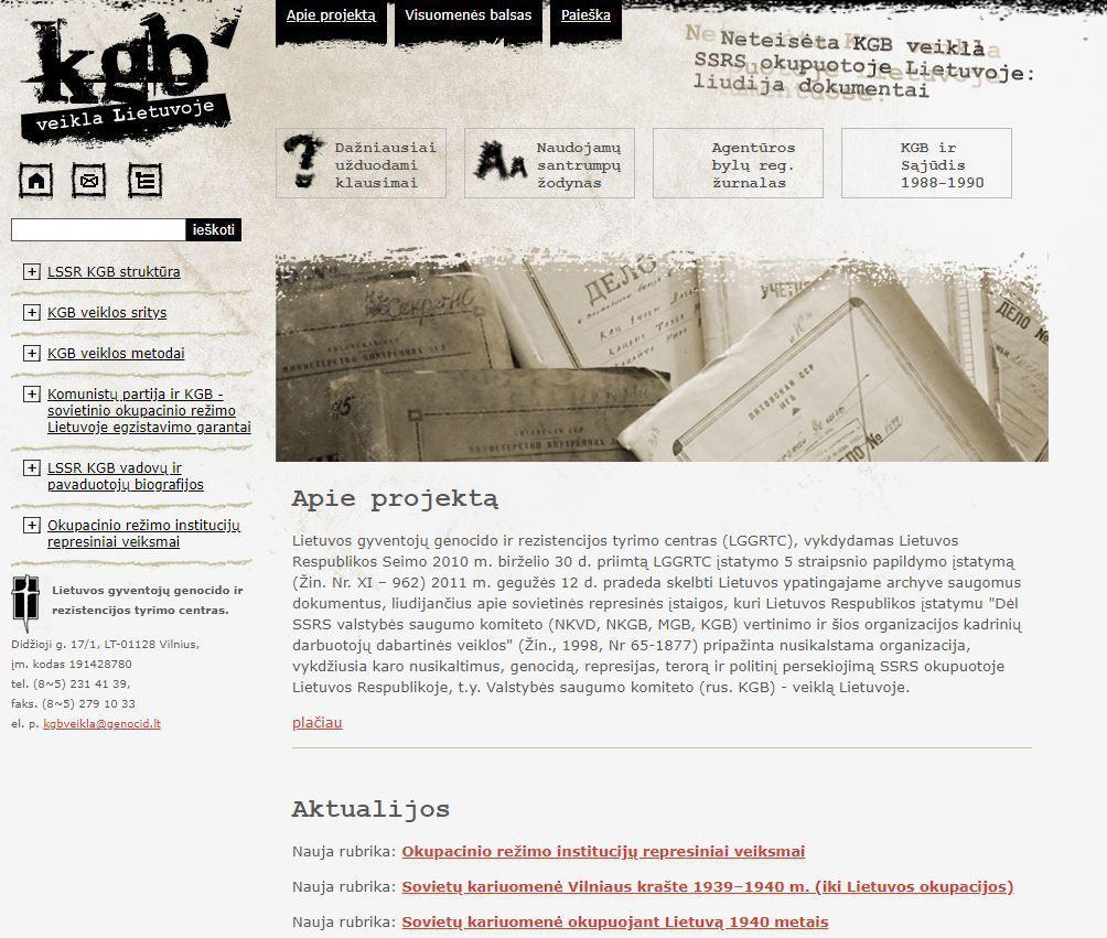 LGGRTC baigė publikuoti dokumentus apie Lietuvos okupaciją 1939-1949 m.