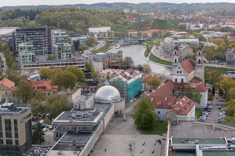 Vietoj planetariumo Vilniuje 2021 metais duris atverti turėtų mokslo centras moksleiviams