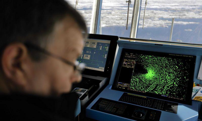 """Šiaurinis magnetinis polius per metus Sibiro link pasislenka 55-60 km. Davido Goldmano (""""AP Photo""""/""""Scanpix"""") nuotr."""