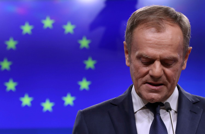 """D. Tuskas: pragare yra speciali vieta tiems, kurie agitavo už """"Brexit"""" be jokio plano"""
