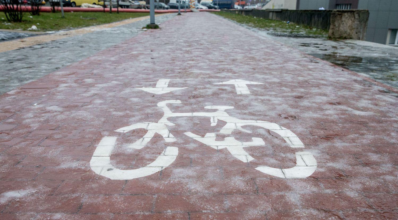 Naujam pėsčiųjų ir dviračių takui Vilniuje skiria 4 mln. Eur