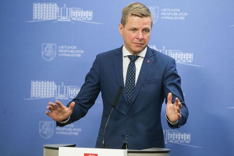 Vilniaus miesto meras Remigijus Šimašius. Vladimiro Ivanovo (VŽ) nuotr.