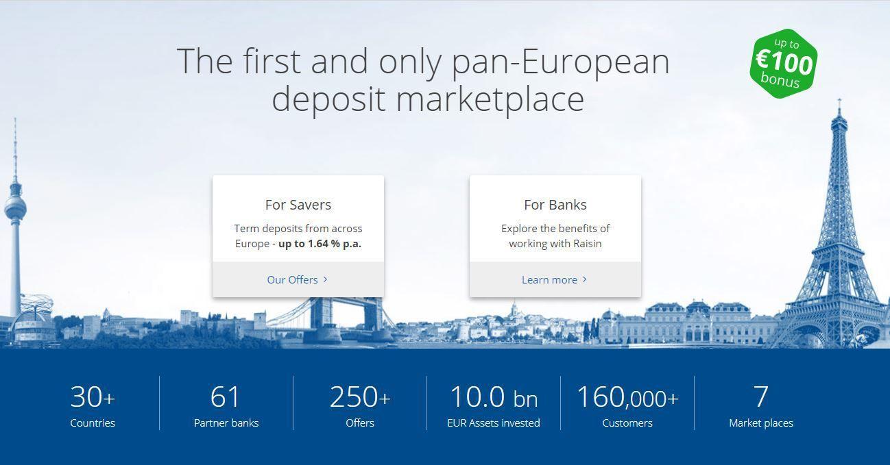 """Europos indėlių platforma """"Raisin"""" pritraukė 114 mln. USD investiciją"""