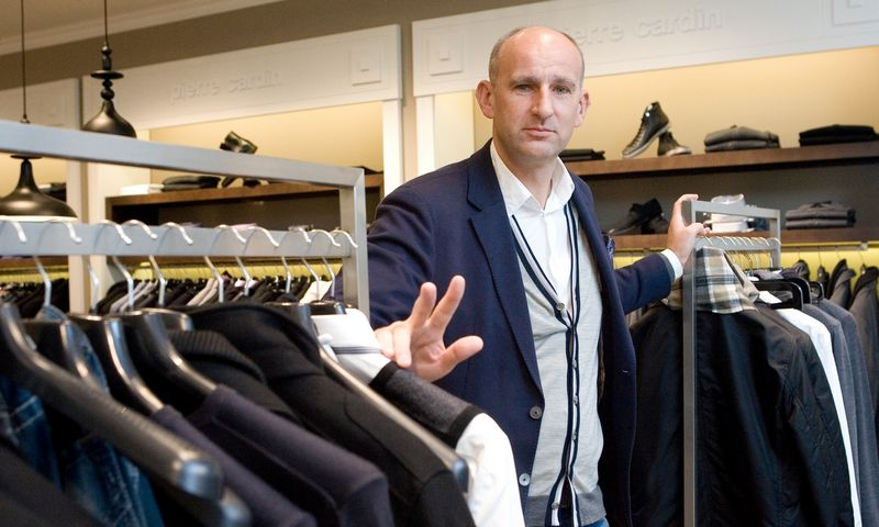 """Edgaras Sekmokas, UAB """"Stesa Clasic"""", valdančios """"Pierre Cardin"""" parduotuves, buvęs vadovas."""