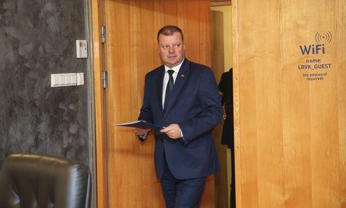 Premjeras: tuščia aplinkos ministro kėdė skatina galvoti apie ministerijų jungimą