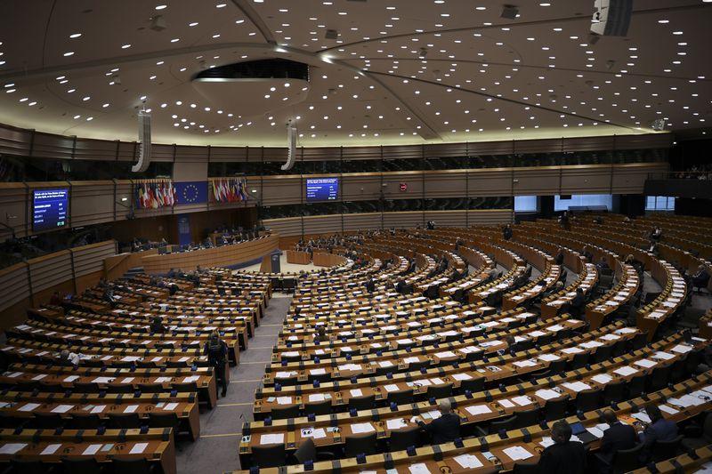 """Vežėjų atstovams suteikia vilties Europos Parlamente stringantis Mobilumo paketo svarstymas. AP / """"Scanpix"""" nuotr."""