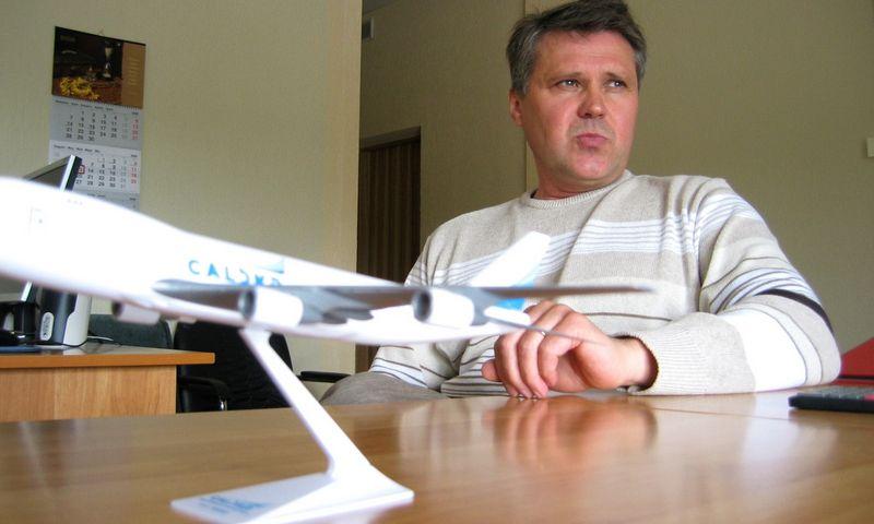 Romas Mikšys, buvęs Šiaulių oro uosto direktorius. Mariaus Danazo nuotr.
