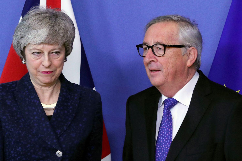 Th. May vizito į Briuselį metu ES nesumirksėjo – skyrybų sutarties tekstas nekeičiamas