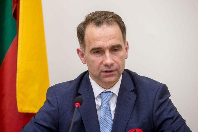 Rokas Masiulis, susisiekimo ministras. Vladimiro Ivanovo (VŽ)