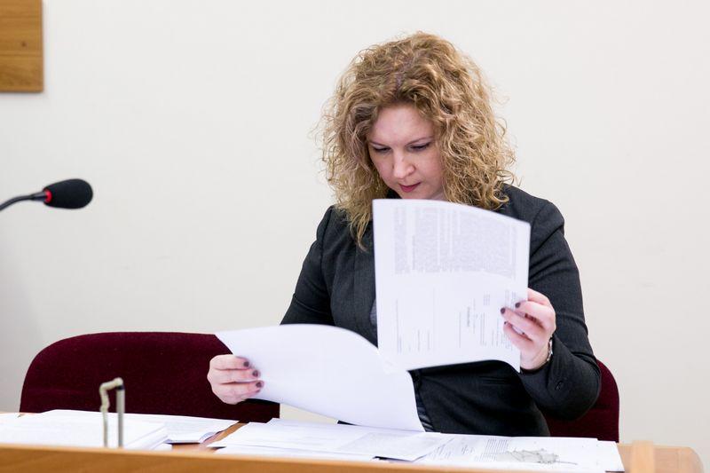 """Teismo posėdis dėl ištrinto Vyriausybės pasitarimo įrašo. Juliaus Kalinsko (""""15min"""" / """"Scanpix"""") nuotr."""