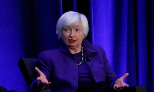 Buvusi FED vadovė J. Yellen: kitas galimas FED žingsnis – palūkanų nurėžimas