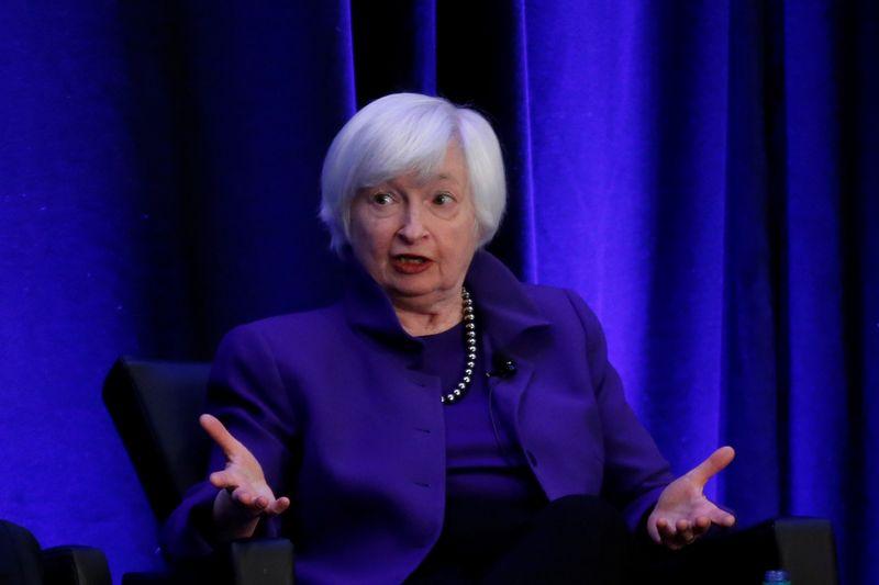 "Janet Yellen, buvusi FED vadovė. Christopher Aluka Berry (""Reuters"" / ""Scanpix"") nuotr."