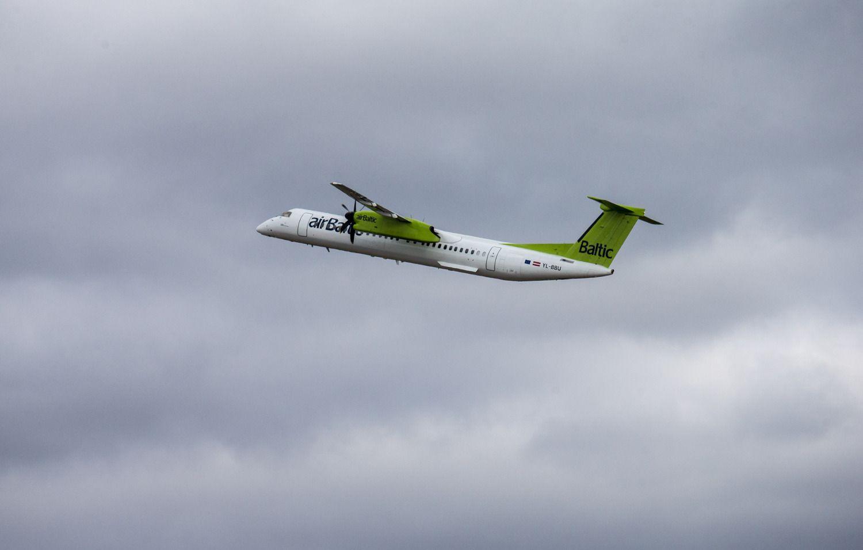 Lietuva ir Latvija pasidalino atsakomybę dėl virš jūros skrendančių orlaivių