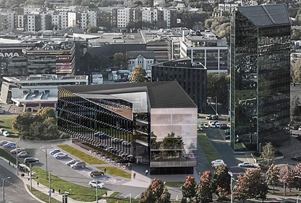 """Prie Vilniaus """"Panoramos"""" planuojamas naujas verslo centras"""