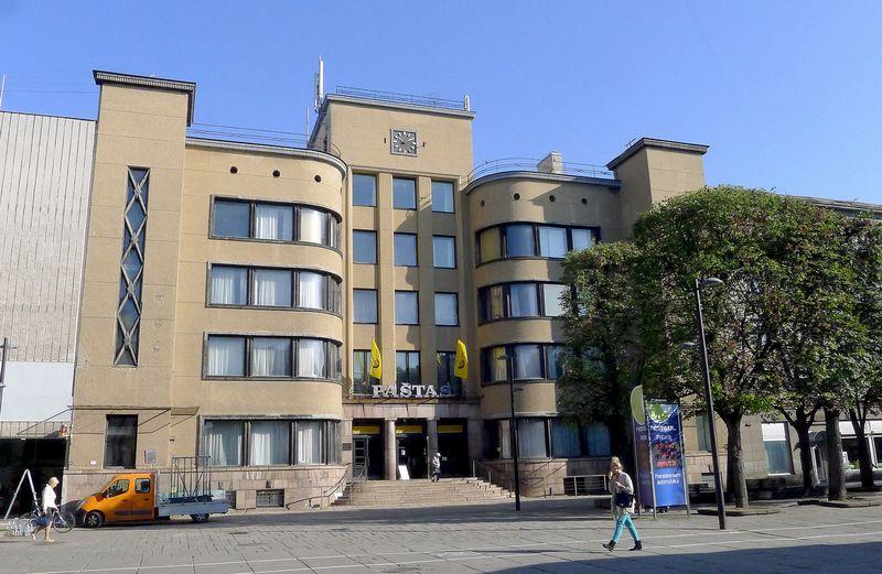 Kauno centrinis paštas. Vladimiro Ivanovo (VŽ) nuotr.