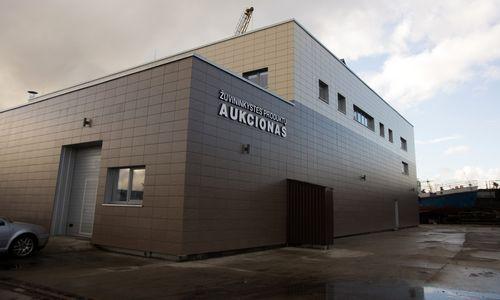 Klaipėdos žuvininkystės produktų aukciono gali nebelikti