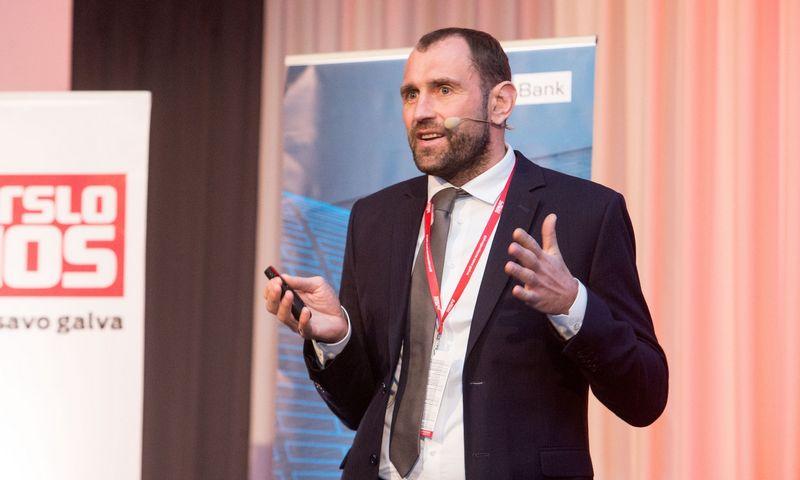 """Darius Šulnis, """"INVL Asset Management"""" valdybos pirmininkas. Juditos Grigelytės (VŽ) nuotr."""