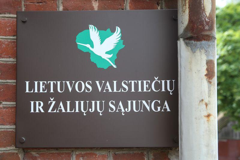 Lietuvos valstiečių ir žaliųjų sąjunga. Vladimiro Ivanovo (VŽ) nuotr.