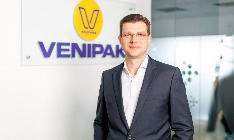 Venipak Lietuva vadovas Justas Šablinskas.