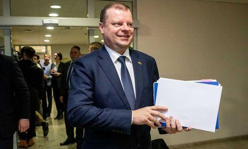 Skvernelis: Aplinkos ministerijoje stiprinsime politinio pasitikėjimo komandą