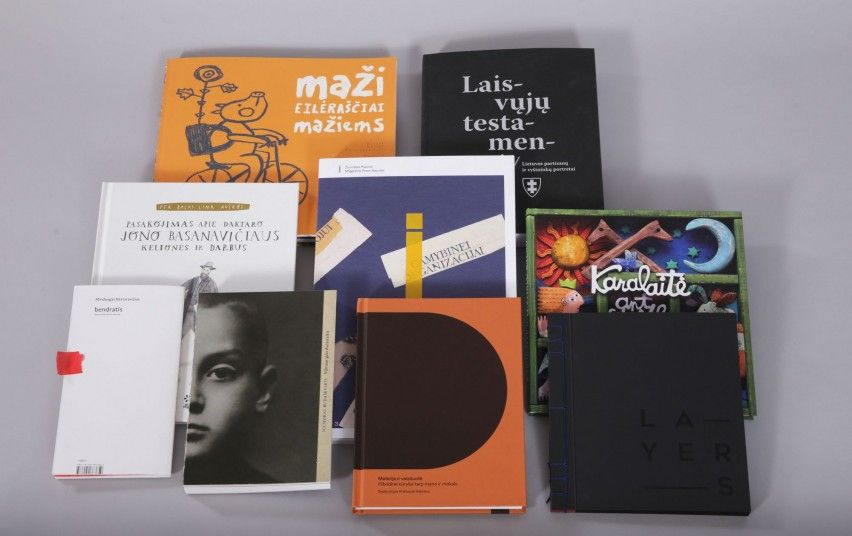 Išrinktos gražiausios metų knygos
