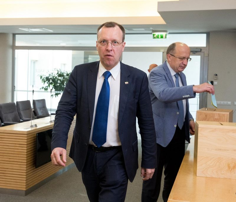 Seimo narys Naglis Puteikis. Juditos Grigelytės (VŽ) nuotr.