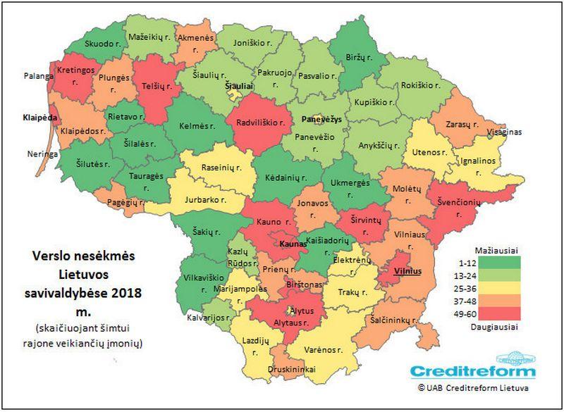 """""""Creditreform Lietuvos"""" informacija"""