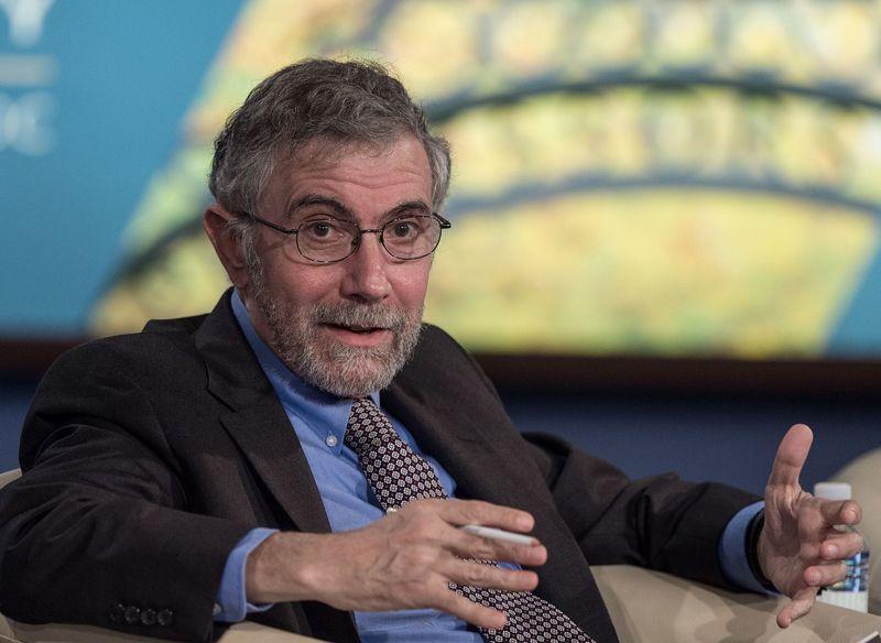 "Ekonomistas Paulas Krugmanas Nicholas KAMM (AP / ""Scanpix"") nuotr."