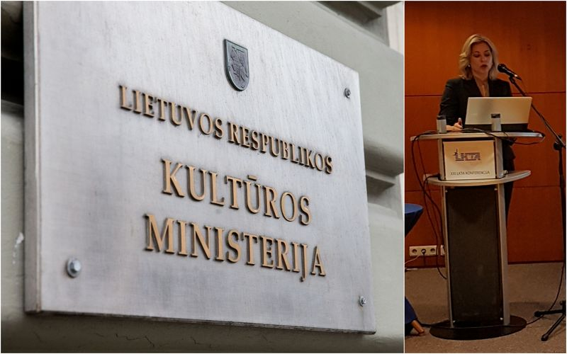 Kultūros viceministrė Regina Jaskelevičienė. VŽ koliažas.
