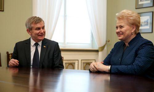 V. Pranckietis ragina S. Skvernelį ieškoti naujo aplinkos ministro