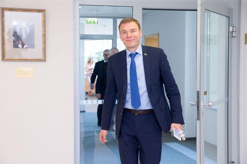 Seimo narys Mindaugas Puidokas. Juditos Grigelytės (VŽ) nuotr.